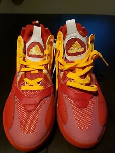 Adidas Zone Boost / Team Collegiate Red / ATL / NWT / Mens Basketball Shoes 6.5