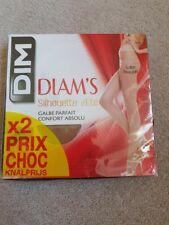 BNIB Dim Women's Diam's Silhouette Tights X 2 Size L RRP £16.72