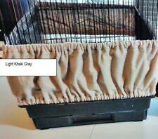 Medium/Large Bird Cage Seed Catcher Skirt 100% Cotton Flannel