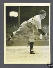 Daniel MacFayden 1934 Yankees Original Wire photo