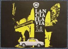 LANCIA FLAVIA 1.8 Specification Sheet Dec 1963 #8799110