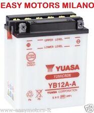 BATTERIA YUASA YB12A-A Case Int. M80-YAMAHA QUAD YFA BREEZE 125 YFM WARRIOR 350