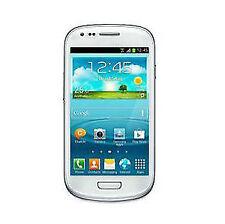 Téléphones mobiles Bluetooth blancs Android, 8 Go