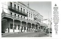 RPPC Real Photo Postcard CA K316 Frashers Nevada City Historic National Hotel