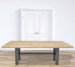 """Esstisch / Gartentisch Bauholz / Gerüstholz / """"JANDIA"""" 150 - 250"""