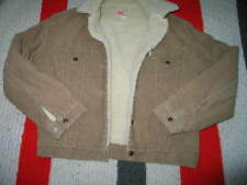 Levis Jacket MEN CLASSIC CORDUROY SHERPA TRUCKER Made in USA SMALL