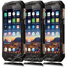 "Waterproof Phone 5.0"" Touch Dual SIM Shockproof Smart Mobile CellPhone Unlocked"