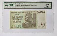 More details for zimbabwe pmg gem unc 67 epq 500000 dollars