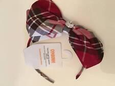 NWT Gymboree Holiday Traditions Plaid Bow Headband