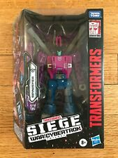 TRANSFORMERS War for Cybertron WFC Siege Deluxe Cybertronian Spinister MISB