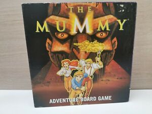THE MUMMY--ADVENTURE BOARD GAME BY UPSTARTS 2003