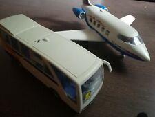 Playmobil Flugzeug + Bus
