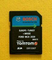 NEW FORD MCA 2020/2021 NAVIGATION SD CARD EUROPE MAP V10 MONDEO KUGA FOCUS