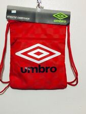 Umbro Athletic Carry Sack New With Tag Color Red