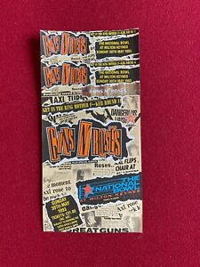 "1993, GUNS N' ROSES, ""Un-Used"" Concert Ticket (Scarce / Vintage)"