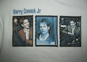 Harry Connick Jr. Songs I Heard 2002 Tour Men XL VTG quality heavyweight T shirt