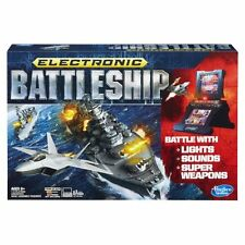 Hasbro Electronic Battleship Game, Ages8+ Portable Toy Lights, Sound Kids Safe