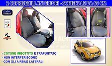 Coprisedili Nissan Juke 2016> Fodere per auto copri sedili Schienali set kit