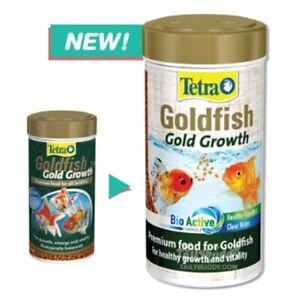 Tetra Goldfish premium food growth Goldfish aquarium granules pellets 113 g.