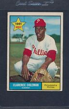 1961 Topps #502 Clarence Coleman Phillies VG/EX *1070