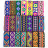 7 Yards Vintage Floral Embroidered Jacquard Ribbon Trim Braid Border Trimmings