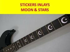 STICKERS INLAY CRESCENT MOON & STAR SILVER KIRK HAMMETT VISIT OUR STORE + MODELS