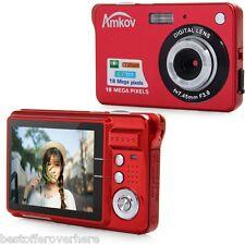 Amkov CDC3 6.9cmtft Pantalla 18.0mp 8x Digital Zoom anti-movimiento Videocámara