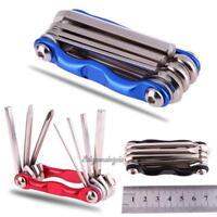 7 in 1 Folding Tool Multi-function Bike Bicycle Wrench Chain Cutter Repair Tools