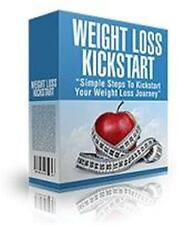 Weight Loss Kickstart Ebook On CD $5.95 Plus Resale Rights Free Shipping