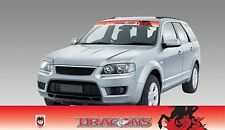 62588 ST GEORGE DRAGONS COLOUR VISOR BLOCK OUT DECAL NRL CAR STICKER ITAG