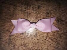 2 X 3.5 in (approx. 8.89 cm) Baby Pink Bow Tie Estilo Cabello Moño + Pinza Cocodrilo Regalo Perfecto Reino Unido