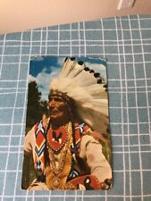 Postcard 123-C Indian Chief