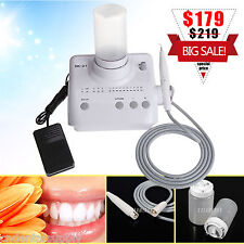 Dental Ultrasonic Piezo Scaler Fit DTE SATELEC w/ Liquid Dosing Bottle Tips