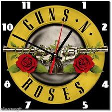 Sveglia da parete, orologio GUNS ROSES rock music MDF wall clock