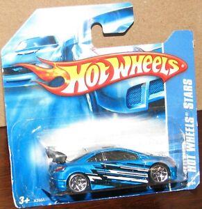 Hot Wheels 2007 Hot Wheels Stars #100 HONDA CIVIC SI  Blue on Short Card