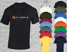 Sonnensystem Herren T Shirt Astronaut Space X Design Astrologie Planeten cooles Design