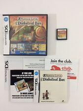 Professor Layton Diabolical Box Nintendo DS CIB Complete Auth Tested