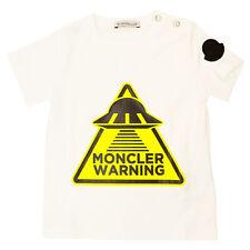 MONCLER T-shirt T-SHIRT Bianco 8C701-208790A001 1BIANCO