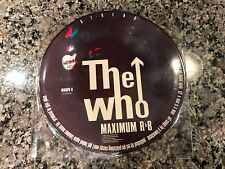 The Who Picture Disc! Limited. Jimmy Hendrix Led Zeppelin The Beatles Pink Floyd