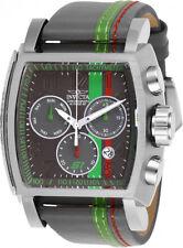 Invicta hombres S1 Rally cuarzo acero inoxidable / gris verde reloj de pulsera