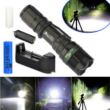 Ultrafire Police -T6 10000 Lumens Shadow Hawk LED Flashlight Torch &Charger