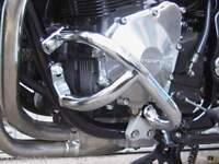 Chrome Engine Crash Bars Protector Guards for Suzuki GSF600 Bandit 95-99 GSX750