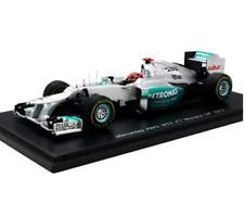 Mercedes AMG W03 nº7 Monaco GP 2012 - Michael Schumacher - (1/43) Coche F1 SPARK
