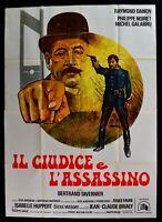 Poster Die Richter E L'Assassin Noiret Galabru Huppert Tavernier M303