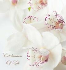 Celebration of Life, in Loving Memory Funeral Guest Book, Wake, Loss, Memorial
