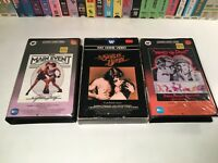 * Barbra Streisand Betamax NOT VHS Lot of 3 Beta Star Is Born What's Up Doc? +