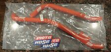 1984 1985 Kawasaki Tecate 3 KXT 250 Orange Moto Hose Radiator Hose Kit