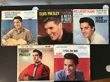 ELVIS LITTLE SISTER/JUST FOR YOU/LONELY MAN/NOW OR NEVER 45 RECORD/LP ITEM #2619