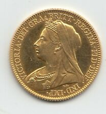 More details for 1893 proof half sovereign  - queen victoria - very rare