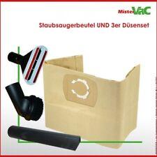 10x Staubsaugerbeutel + Düsenset geeignet Parkside PNTS 1400 E2